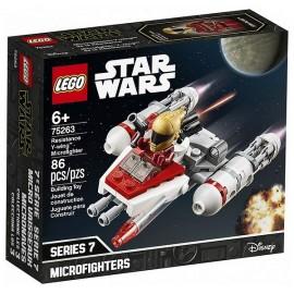 75263 MICROFIGHTER Y-WING RESISTANCE LEGO STAR WARS-LiloJouets-Magasins jeux et jouets dans Morbihan en Bretagne