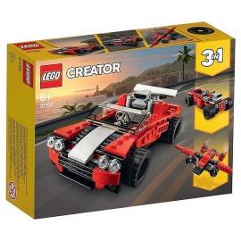 31100 LA VOITURE DE SPORT LEGO CREATOR 3EN1-LiloJouets-Magasins jeux et jouets dans Morbihan en Bretagne