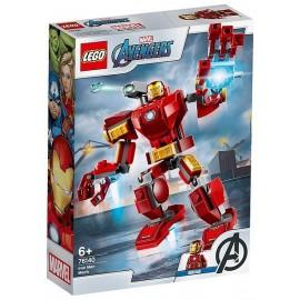 76140 LE ROBOT D'IRON MAN LEGO MARVEL AVENGERS-LiloJouets-Magasins jeux et jouets dans Morbihan en Bretagne