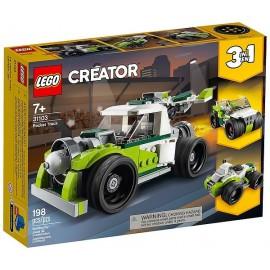 31103 LE CAMION FUSEE LEGO CREATOR 3EN1-LiloJouets-Magasins jeux et jouets dans Morbihan en Bretagne