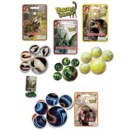 20 BILLES ET 1 BOULET DINOSAURES-jouets-sajou-56