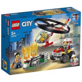 60248 INTERVENTION HELICOPTERE POMPIERS LEGO CITY