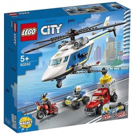 60243 ARRESTATION EN HELICOPTERE LEGO CITY