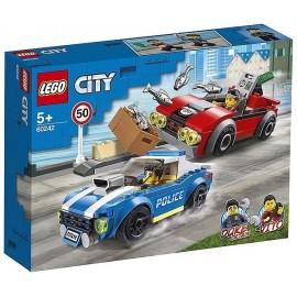 60242 COURSE POURSUITE SUR AUTOROUTE LEGO CITY-LiloJouets-Magasins jeux et jouets dans Morbihan en Bretagne