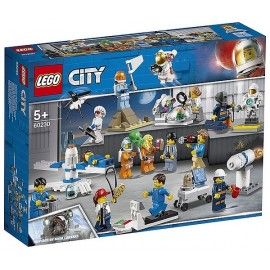 60230 ENSEMBLE FIGURINES NASA DEVELOPPEMENT SPATIAUX LEGO CITY