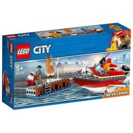 60213 INCENDIE SUR LE QUAI LEGO CITY