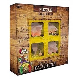 PACK 4 CASSE TETE BOIS NIVEAU EXPERT-LiloJouets-Magasins jeux et jouets dans Morbihan en Bretagne