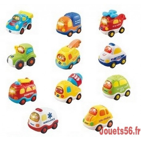 Tut Tut Bolides - Véhicules assortis-jouets-sajou-56