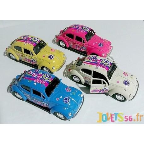 BEETLE VW COCCINELLE VEHICULE METAL 13CM ASST-LiloJouets-Magasins jeux et jouets dans Morbihan en Bretagne