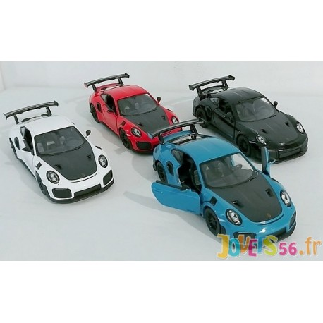 PORSCHE 911 GT2 VEHICULE METAL 12CM COULEURS ASSORTIES-LiloJouets-Magasins jeux et jouets dans Morbihan en Bretagne