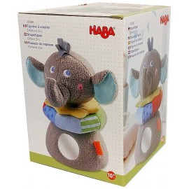 ELEPHANT FIGURINE A EMPILER PELUCHE 20CM-LiloJouets-Magasins jeux et jouets dans Morbihan en Bretagne