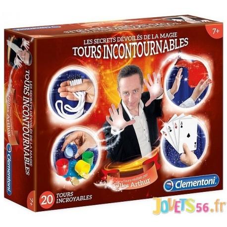 COFFRET MAGIE 20 TOURS GILLES ARTHUR-LiloJouets-Magasins jeux et jouets dans Morbihan en Bretagne