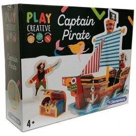 CAPTAIN PIRATE PLAY CREATIVE CONSTRUCTION BATEAU-LiloJouets-Magasins jeux et jouets dans Morbihan en Bretagne