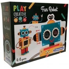 FUN ROBOT PLAY CREATIVE CONSTRUCTION ROBOT CARTON-LiloJouets-Magasins jeux et jouets dans Morbihan en Bretagne