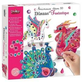 DIAMS FANTASTIQUE ANIMAUX DECO 3D-LiloJouets-Magasins jeux et jouets dans Morbihan en Bretagne