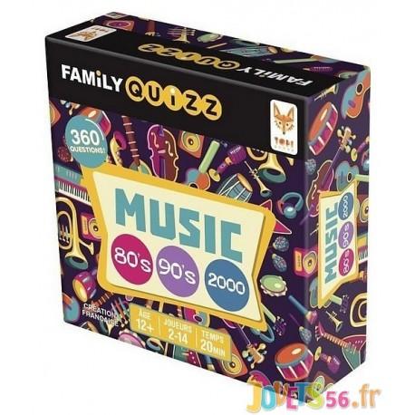 JEU FAMILY QUIZZ MUSIC ANNEES 80 90 2000-LiloJouets-Magasins jeux et jouets dans Morbihan en Bretagne