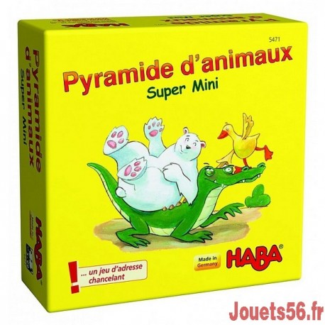 PYRAMIDE D'ANIMAUX SUPER MINI-jouets-sajou-56
