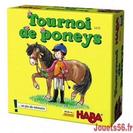 TOURNOI DE PONEYS-jouets-sajou-56