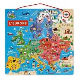 PUZZLE CARTE EUROPE MAGNETIQUE