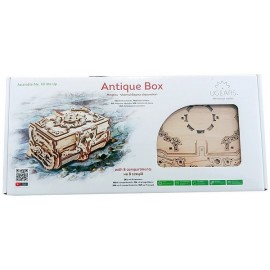 UGEARS ANTIQUE BOX PUZZLE 3D MECANIQUE EN BOIS