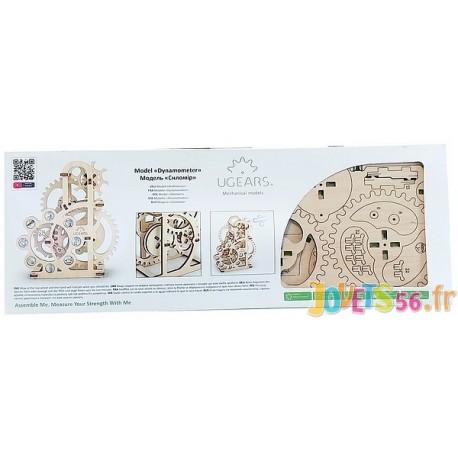 UGEARS DYNAMOMETRE PUZZLE 3D MECANIQUE EN BOIS-LiloJouets-Magasins jeux et jouets dans Morbihan en Bretagne
