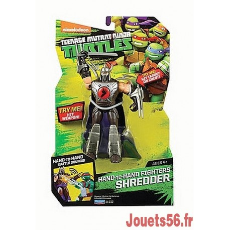 TORTUE NINJA DELUXE 14CM HAND TO HAND FIGHTERS-jouets-sajou-56