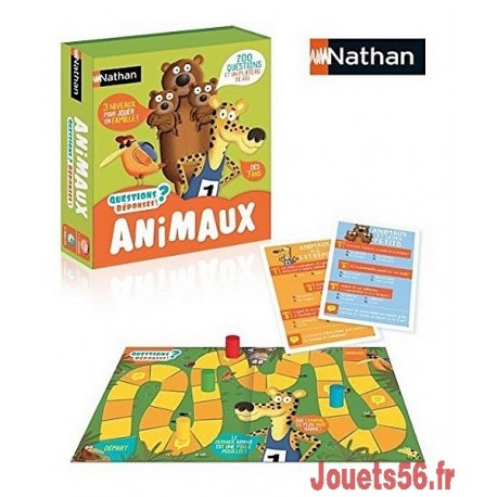 QUESTIONS REPONSES - ANIMAUX-jouets-sajou-56