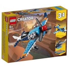 31099 AVION A HELICE LEGO CREATOR 3EN1-LiloJouets-Magasins jeux et jouets dans Morbihan en Bretagne