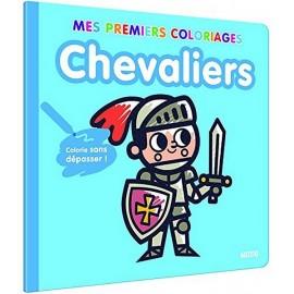 MES PREMIERS COLORIAGES CHEVALIERS-jouets-sajou-56