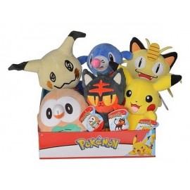 PELUCHE POKEMON POKEBALL ASST