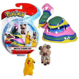 PACK 3 FIGURINES 5CM ET 8CM POKEMON ASST