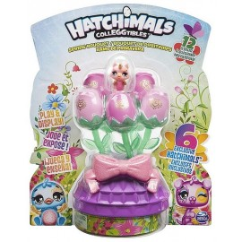 BOUQUET DE FLEURS HATCHIMALS 6 FIGURINES