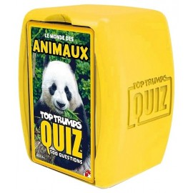 QUIZ ANIMAUX CARTES TOP TRUMPS 500 QUESTIONS