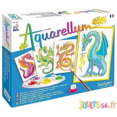 AQUARELLUM JUNIOR DRAGONS-LiloJouets-Magasins jeux et jouets dans Morbihan en Bretagne