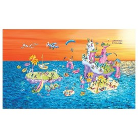 PUZZLE ILE AKENA 540 PIECES