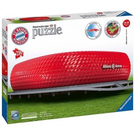 PUZZLE 3D STADE ALLIANZ ARENA FOOT BAYERN 216 PIECES