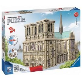 PUZZLE 3D NOTRE DAME DE PARIS 324 PIECES-LiloJouets-Magasins jeux et jouets dans Morbihan en Bretagne