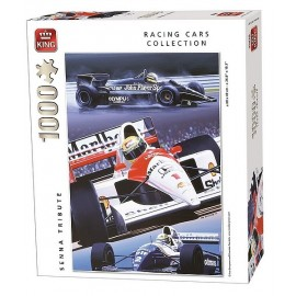 PUZZLE RACING AYRTON SENNA TRIBUTE FORMULE1 1000 PIECES