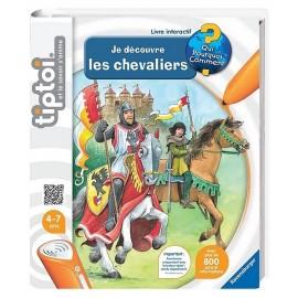 LIVRE TIPTOI DECOUVRE LES CHEVALIERS-LiloJouets-Magasins jeux et jouets dans Morbihan en Bretagne