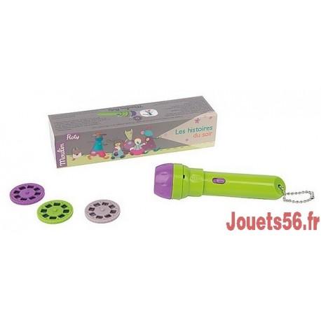 LAMPE A HISTOIRES LES JOLIS PAS BEAUX-jouets-sajou-56