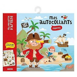 MES AUTOCOLLANTS PIRATES AVEC 6 DECORS