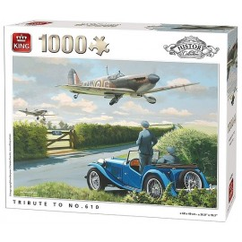 PUZZLE HISTORY 2EME GUERRE TRIBUTE TO 610 AVION 1000 PIECES