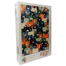 PUZZLE CATS DE ANDREA KURTIS 1000 PIECES LES CHATS
