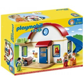 6784 - 1.2.3 MAISON DE CAMPAGNE PLAYMOBIL-jouets-sajou-56