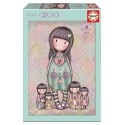 PUZZLE SEVEN SISTERS GORJUSS 200 PIECES