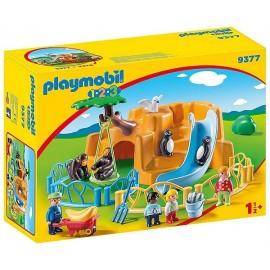 9377 PARC ANIMALIER PLAYMOBIL 1.2.3