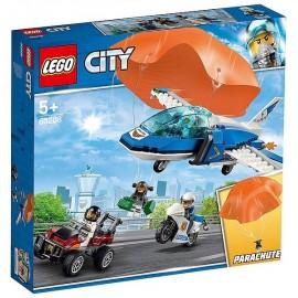 60208 L'ARRESTATION EN PARACHUTE LEGO CITY-LiloJouets-Magasins jeux et jouets dans Morbihan en Bretagne