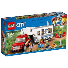 60182 LE PICK-UP ET SA CARAVANE LEGO CITY