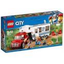 60182 LE PICK-UP ET SA CARAVANE LEGO CITY