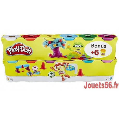 PATE A MODELER 6+6 BONUS-jouets-sajou-56